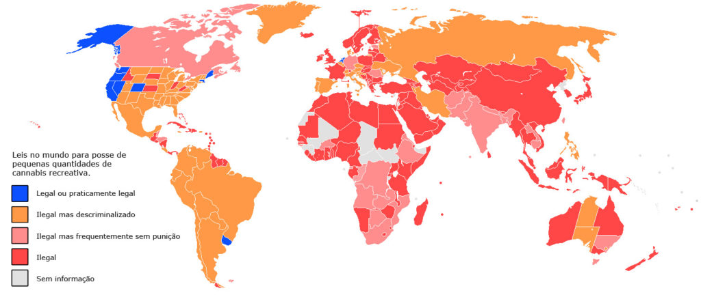 As leis da cannabis pelo mundo